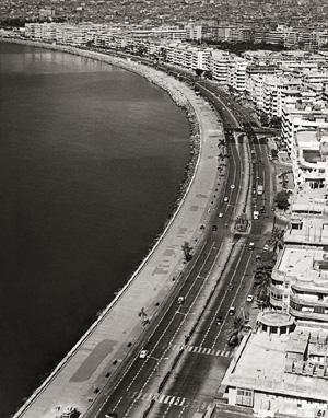 Thunder road : Marine Drive began to shine in the 1930s, the era of Bromfield's Bombay. Dinodia Photos