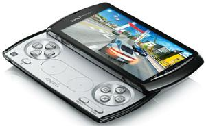Trigger-happy: The Xperia Play has a slide-out gamepad, much like the PSP.