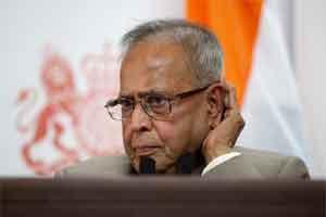 Finance minister Pranab Mukherjee. Photo: Bloomberg