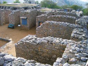Graduation: Takshila's archaeological ruins. Wikimedia Commons