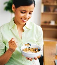 Bowl full of goodness: B complex vitamins in cereals boost energy.