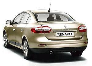 Renault Fluence: The car is competitively priced.