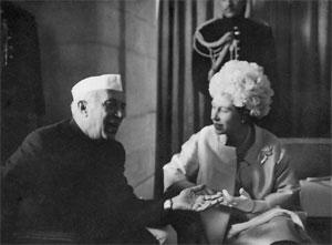 The way they were: Nehru with Queen Elizabeth II in 1961. Photographs courtesy Nehru Memorial Museum and Librar
