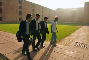 Hiring spree: Recruiters at the Indian Institute of Management, Ahmedabad. Madhu Kapparath/Mint