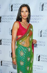 Spread the word: Former model Padma Lakshmi at an awareness event for the Endometriosis Society of America in New York in March. Mike Coppola/Getty Images/AFP
