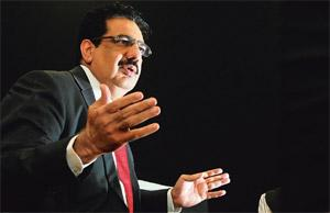 Growth momentum : HCL Technologies' Vineet Nayar. Photograph by Priyanka Parashar