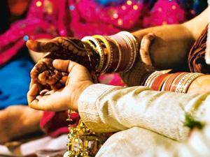 Meeting of minds: The Vedic wedding rituals did not place the bride in a position subordinate to the groom. Photo by Divya Babu/Mint