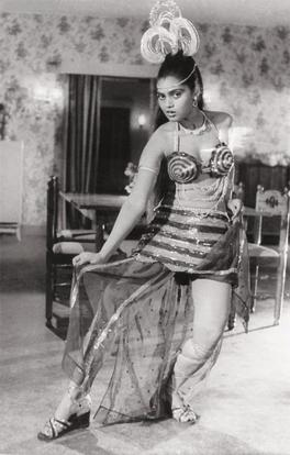 Oozing oomph: Silk Smitha often designed her own costumes and Malayalam