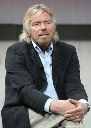 Richard Branson, chairman, Virgin Atlantic. Photo: Getty Images/AFP
