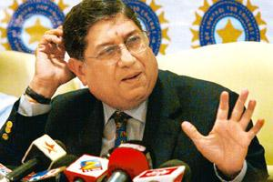 File picture of N Srinivasan. AP.