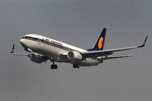 File photo of A Jet Airways ( India) Ltd. plane. Bloomberg.