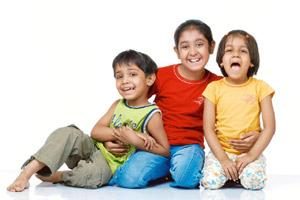 In a pack: All your children should feel as special as the first-born. Photo by Thinkstock.