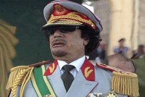 Former Libyan leader Moammar Gadhafi. Photo: Reuters