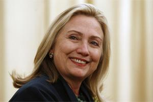 US secretary of state HillaryClinton (Reuters)