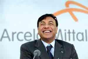Lakshmi Mittal, president and chief executive officer of ArcelorMittal. Photo: Bloomberg