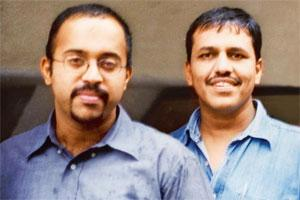 Wrong flavour: Raghu Bhat (left) and Manish Bhatt.