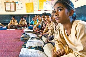 Sorry syllabus: So many girls battle hygiene and safety issues to get an education. Photo Priyanka Parashar/Mint