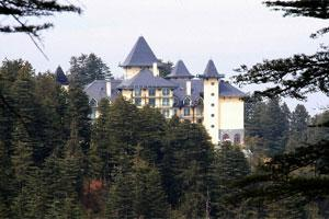 A view of Oberoi Hotels & Resorts Co.'s Wildflower Hall in Shimla. Photo: Bloomberg.