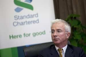 File Photo: Peter Sands, CEO of StanChart/ Bloomberg