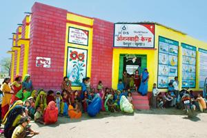 An anganwadi centre in the Baran district.By Himanshu Vyas/HT