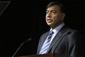 Lakshmi Mittal, chief executive officer, ArcelorMittal. Bloomberg