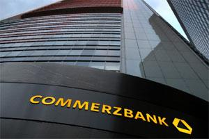 The Commerzbank AG headquarters in Frankfurt. Photo: Bloomberg.