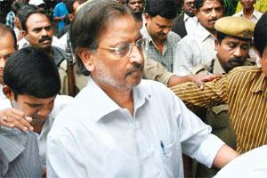 Release on the cards: A file photo of B. Ramalinga Raju in Hyderabad.