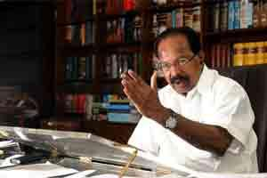 A file photo of Veerappa Moily, minister of corporate affairs