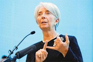 Call for help: IMF managing director Christine Lagarde. Photo: Reuters