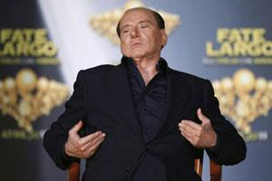 Italian Prime Minister Silvio Berlusconi. (File photo)