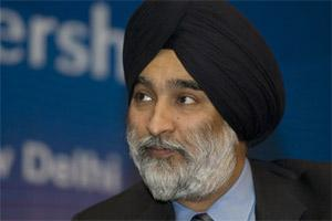File photo of Analjit Singh, chairman, Max Group