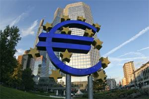 A file photo of European Central Bank (ECB) headquarters in Frankfurt, Germany