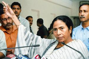 Tough stance: West Bengal chief minister Mamata Banerjee. By PTI