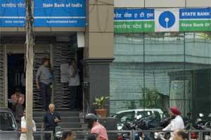 A file photo of a SBI branch