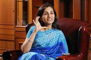A file photo of ICICI Bank chief Chanda Kochhar.