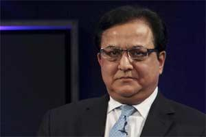Rana Kapoor, MD, of Yes Bank. Bloomberg.