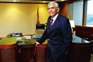 In focus: Comptroller and Auditor General of India Vinod Rai. By Pradeep Gaur/Mint