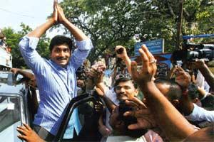 Facing charges: Y.S. Jagan Mohan Reddy. PTI