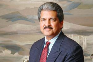 Joining hands: Mahindra Group vice-chairman Anand Mahindra. By Saanskrut Kumar/Mint