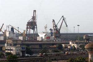 Chennai Port. File photo.