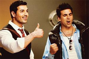 U/A: Abraham and Kumar in Desi Boyz.