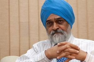 Montek Singh Ahluwalia, deputy chairman of the Planning Commission. Photo: Bloomberg