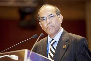 A file photo of RBI governor D. Subbarao.