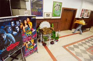 Cultural 'adda': Generations have grown up watching movies at Kolkata's Priya Cinema.Photo: Indranil Bhoumik/Mint