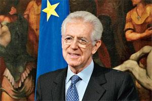 Tough time: Italian Prime Minister Mario Monti. Photo: Alessandro Bianchi/Reuters