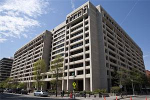 The International Monetary Fund building stands in Washington, D.C., US. Photo: Bloomberg