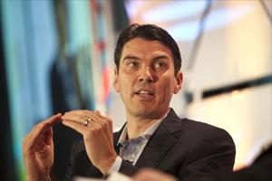 TimArmstrong, chief executive officer of AOL. Photo: Bloomberg