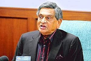 A file photo of SM Krishna, External?affairs?minister, India