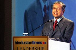 Mahathir Mohamad, former prime minister of Malaysia. Photo: PTI.