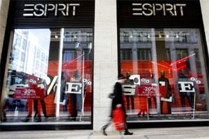 An Esprit clothing store in Berlin, Germany. Photo: Bloomberg